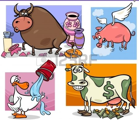 Метафоры о животных
