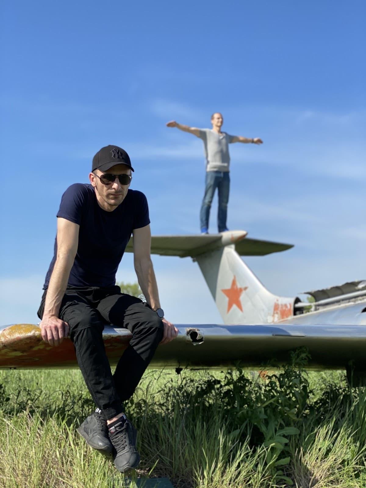 Коллективный выезд на заброшенный аэродром в Волчанске